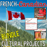 BUNDLE - French Canadian Intercultural Awareness Projects