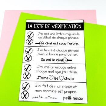 "BUNDLE: French Writing Mats / ""Tapis"" d'écriture #journeemondiale"