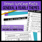 "#ventefolle BUNDLE: French Writing Mats / ""Tapis"" d'écriture"