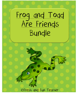 BUNDLE Frog and Toad Are Friends