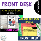 Front Desk by Kelly Yang CHARACTER TRAITS and VOCABULARY A