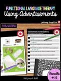 Functional Language Activity Using Advertisements