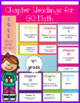 BUNDLE GO Math Vocabulary Word Wall Cards Chapters 7-13 Grade 4