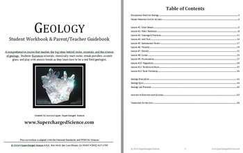 BUNDLE Geology Lesson Plans