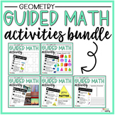 BUNDLE Geometry Guided Math Activities