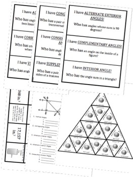 BUNDLE Geometry & Volume Math Stations for Common Core Eighth Grade