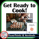 BUNDLE! Get Ready to Cook- math, measuring, recipes, techniques and equipment