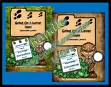 BUNDLE! Going On A Letter Hunt: Scavenger Hunts ANY Text, Upper and Lowercase