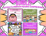 BUNDLE Google Slides Reading Comprehension Passages and Questions