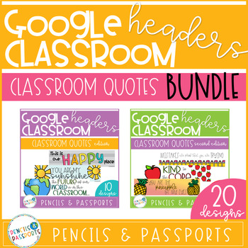 Google Classroom Headers Teachers Pay Teachers