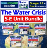 BUNDLE | Google Classroom | Water Crisis & Scarcity Unit |