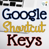 Google SITES/DRIVE/SLIDES/DOCS Shortcut Keys for Tech Stud