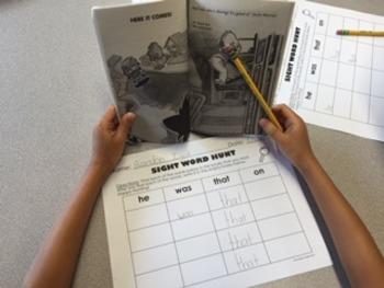 Grade 2 AND Grade 3 Sight Word Work BUNDLE