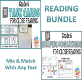 BUNDLE: Grade 6 Common Core Close Reading Graphic Organize