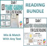 BUNDLE: Grade 7 Common Core Close Reading Graphic Organize