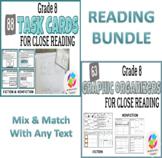 BUNDLE: Grade 8 Common Core Close Reading Graphic Organize