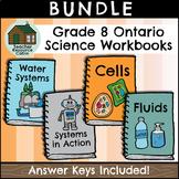 BUNDLE: Grade 8 Science Workbooks (Ontario Curriculum)
