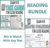 BUNDLE: Grade 9 and 10 Common Core Reading Graphic Organiz
