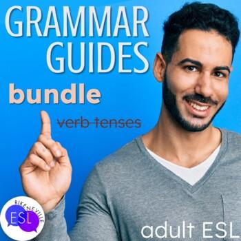 BUNDLE  Grammar Guides with Worksheets