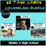 Group Counseling Activity Scenario Task Cards for Middle & High School