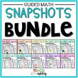BUNDLE Guided Math Snapshots