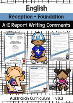 BUNDLE - HASS, Maths, English, Science - Report Writing - Rec Found - Aust Curr