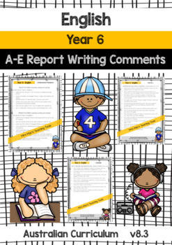 BUNDLE - HASS, Maths, English, Science - Report Writing  Year Grade 6 Aust Curr