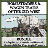 BUNDLE - HOMESTEADERS AND WAGON TRAINS