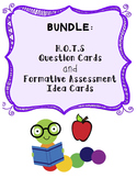 BUNDLE: HOTS Question Cards and Formative Assessment Cards