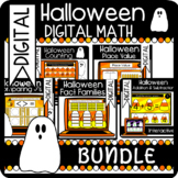 BUNDLE: Halloween Word Problem Mini Books! Addition & Subtraction within 10 & 20