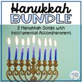 BUNDLE Hanukkah Songs for Kids - 3 Hebrew Songs Instrumental Arrangement + More