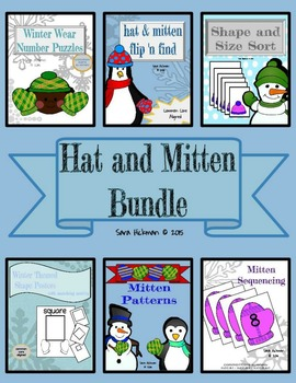 Hats and Mitten Bundle