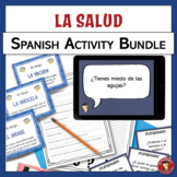 BUNDLE!!! Health & wellness themed Spanish resources | La