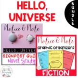 BUNDLE - Hello, Universe - Notice & Note Graphic Organizers + Novel Study