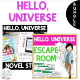 BUNDLE - Hello, Universe - Novel Study + Escape Room