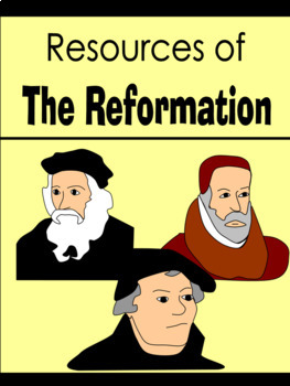 BUNDLE - History of Printing & The Reformation