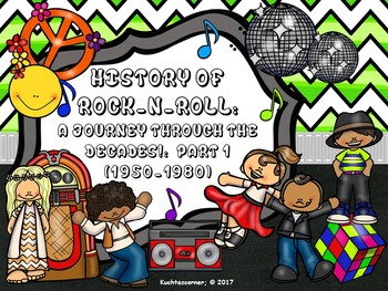 BUNDLE-History of Rock-n-Roll: Journey through the Decades (50'S-Present)PPT Ed.