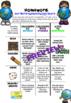 Homework Choice Board or Grid. 10 Themes, No Prep!! USA Ed: BUNDLE