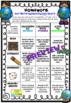 Homework Choice Board Grid. 10 Themes, No Prep!! Aus/ Uk Ed; BUNDLE