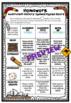 Homework Choice Board Grid. 10 Themes, No Prep!! Aus/ Uk E