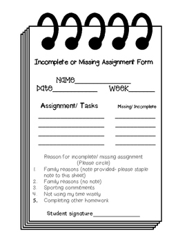 Homework and Behavior Printables, forms: Classroom Management Tool - BUNDLE