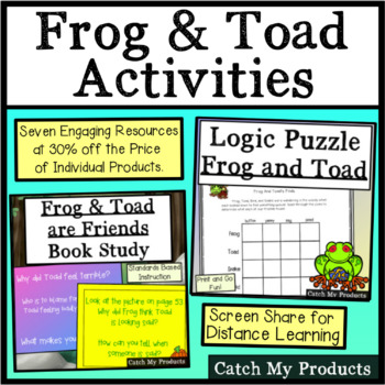 Logic Puzzles BUNDLE: Hopping Into Logic With Frog and Toad
