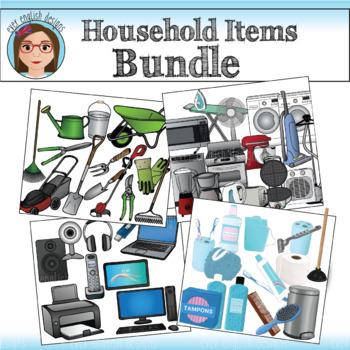 BUNDLE- Household Items Clip Art {SAVE 20%}