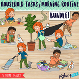 BUNDLE Household Tasks and Morning Routine