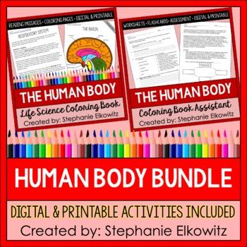 Human Body System Coloring Unit Bundle