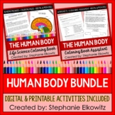Human Body System Coloring and Reading Bundle | Printable