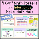 Digital Manipulatives & Math Mats with Strategy Posters -
