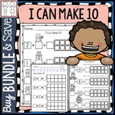 BUNDLE: Making 10 Worksheets