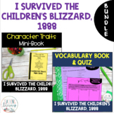 I Survived the Children's Blizzard, 1888 Character Traits and Vocabulary BUNDLE