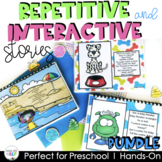 Interactive & Repetitive Story Book Bundle for Preschool Speech Therapy